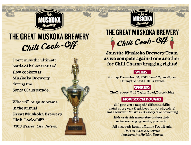Great Muskoka Brewery Chili Cook-Off