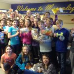 Young food-raisers from Macaulay Public School