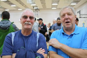 A couple of Oldtimers getting their route info.