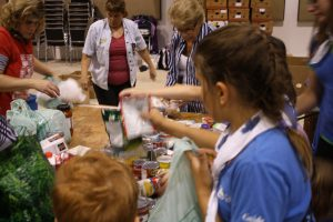 Sorting donations