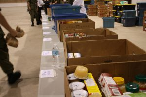 Manna feeds about 700 local families per year.