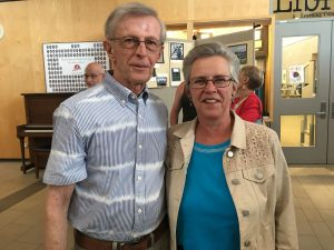 Jim and Barb - Manna volunteers