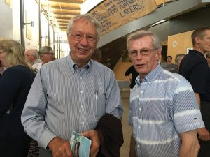 Earl and Jim - Manna volunteers