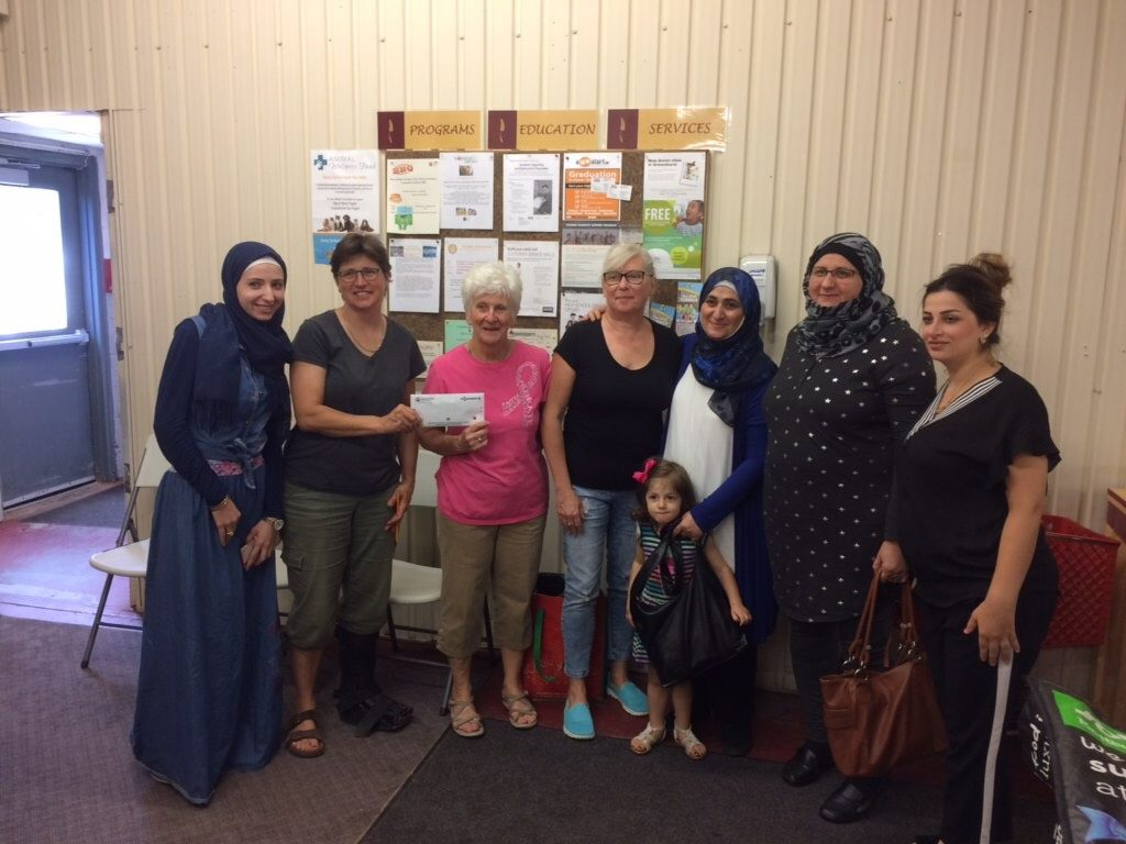 Eid celebrants in Muskoka donating to Manna.